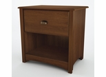 Night Table in Sumptuous Cherry - Willow - South Shore Furniture - 3356062