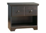 Nightstand - Night Table in Ebony - South Shore Furniture - 3877062