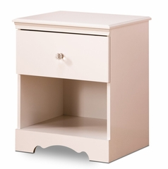Nightstand - Night Table in Pure White - South Shore Furniture - 3550062