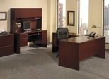 Northfield Executive Office Furniture Package 1 - Bush Office Furniture - OFFPKG-30