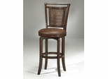 Norwood Copper Back Swivel Bar Stool - Hillsdale Furniture - 4935-831S