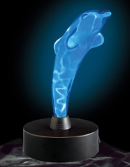 Novelty Lamp - Dolphin Electra Lamp in Blue / Blue - LumiSource - LSE-D-BB
