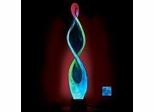 Novelty Lamp - Infin-8 Electra Lamp in Blue / Blue - LumiSource - MH-INFIN8-BB