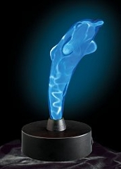 Novelty Lamp - Mini Dolphin Electra Lamp in Blue / Blue - LumiSource - LSE-DSM-BB