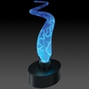 Novelty Lamp - Sculptured Electra Lamp in Blue / Blue - LumiSource - MH-SE3G-BB