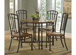 Oak Hill 5-Piece Dining Set in Oak - Home Styles - 5050-318