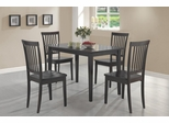 Oakdale 5 Piece Dining Set in Cappuccino - 150152
