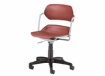 Office Chair - Armless Plastic Swivel Chair - OFM - 200