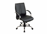 Office Chair - Office Star - 8201 - Executive Leather Mid-Back
