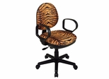 Office Chair - Office Star - DH3405 - Contemporary Swivel Chair with Flex Back and Loop Arms