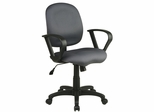 Office Chair - Sculptured Task Chair with Contemporary Loop Arms - Office Star - SC59