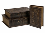 Old World Book Box Collection (Set of 3) - IMAX - 1942-3