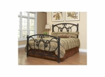 Olivia Antique Bronze Metal Bed - Largo - LARGO-ST-1401XHF