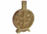 Open Weave Decorative Vase - Nearly Natural - 0524