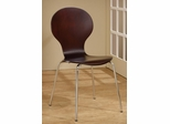 Orval Cappuccino Side Chair - Set of 4 - 120792