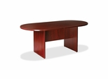 Oval Conference Table - Mahogany - LLR87272