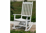 Painted Traditional Rocking Chair in White - Merry Products - MPG-PT-41110WP