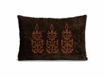 Palais Rectangle Pillow - 12 x 18 - IMAX - 42070