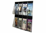 Pamphlet Wall Rack - Clear - DEF56201