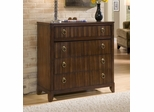 Paris Four Drawer Chest in Mahogany - Home Styles - 5540-41