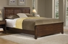 Paris Queen Size Bed in Mahogany - Home Styles - 5540-500