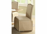 Parkins Parson Chair in Coffee - Set of 2 - 103713