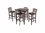 Parkland 5Pc High Table Dining Set - Winsome Trading - 94559