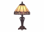 Peacock Accent Lamp - Dale Tiffany