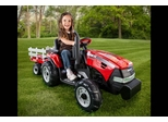 Peg Perego Case IH Magnum Tractor with Trailer