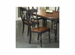 Phillip Side Chair - Set of 2 Black / Cherry - Largo - LARGO-ST-D195-41