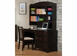 Phoenix Cappuccino Youth Computer Desk with Hutch - 400187