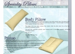 Pillow - Body Pillow - SilverRest - SRPBODMEM