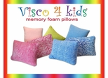 Pillow - Visco 4 Kids Zebra Pink Pillow - SilverRest - SRPZBPMEM