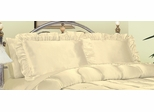 Pillowcase - Charmeuse II 230TC Satin Standard Pillowcase (Set of 2) in Bone - 200SCS2BONE