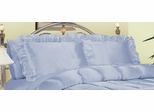 Pillowcase - Charmeuse II 230TC Satin Standard Pillowcase (Set of 2) in French Blue - 200SCS2FBLU
