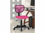 Pink Mesh Adjustable Height Task Chair - 800055P