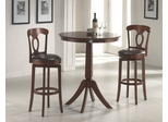 Plainview 3-Piece Bistro Set with Corsica Stools - Hillsdale Furniture - 4166832PTS