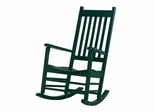 Porch Rocker Chair in Hunter Green - R-51865