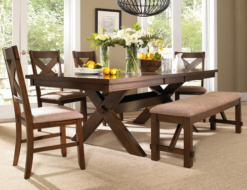 Powell 6 Pc Kraven Dining Set