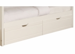 Powell Angelica White Underbed Dual Drawer Unit