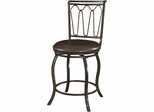 Powell Big and Tall Counter Stool Triple Cone