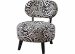 Powell Black Paisley Parsons Chair