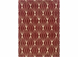 Powell Bombay 100% Polyester Rug Entwine Rust