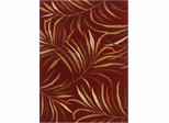 Powell Bombay Rug Lanai Red 100% Polyester