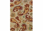 Powell Bombay Rug Palme Ivory Chic Design