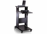 Presentation Stand in Anthracite - Mayline Office Furniture - 1010PCANTFLK
