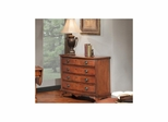 Princeton Bow Front Hall Chest American Walnut - Largo - LARGO-ST-T853-135