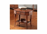 Princeton Rectangular End Table American Walnut - Largo - LARGO-ST-T853-123