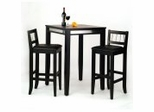 Pub Set in Black - Manhattan - 5123-PSET