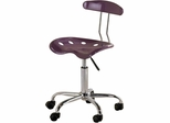 Purple Tractor Seat Task Chair